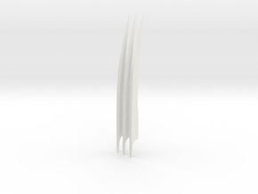 Wolverine Movie Claws (set) in White Natural Versatile Plastic