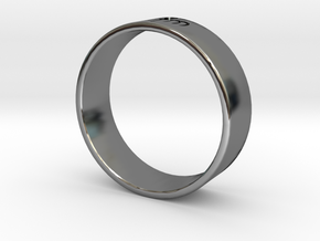 James Bond: Spectre Ring - Size 12.5 in Fine Detail Polished Silver