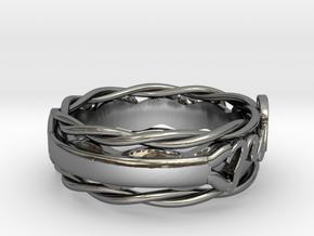 Model-3e32e0b9e87d39bd299f59e76cf8f1a5 in Fine Detail Polished Silver