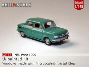 NSU Prinz 1000 (British N 1:148) in Frosted Ultra Detail