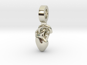 Tinman in 14k White Gold