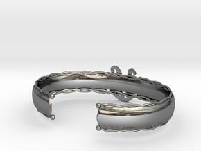 Model-4f6006c121360f8f9ff1fb76615a2ee1 in Fine Detail Polished Silver