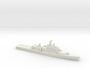 ITS Andrea Doria Helicopter Cruiser, 1/2400 in White Natural Versatile Plastic