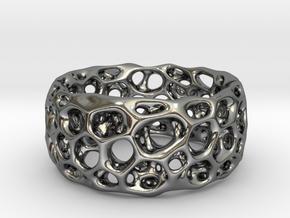 Frohr Design Radiolaria XL in Fine Detail Polished Silver
