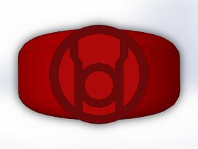 Red Lantern Ring in Full Color Sandstone