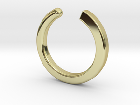 Fable - Size XS in 18k Gold Plated Brass: Extra Small