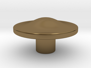 Tai Hat Finial in Polished Bronze