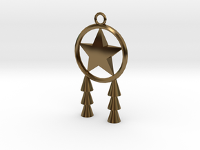 Miniature Parol in Polished Bronze