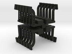 SUMMIT STYLE BRAKE PEDAL12 PAIR in Black Natural Versatile Plastic