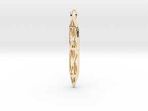 Abstract Sefirot in 14K Yellow Gold
