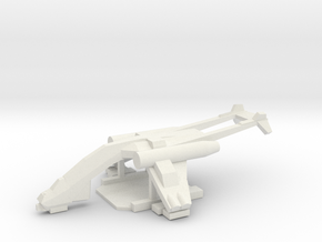[5] Heavy Vehicle Lifter in White Natural Versatile Plastic