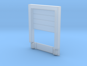 8x10 Roll Up Door;PartOpen - Surface in Smooth Fine Detail Plastic