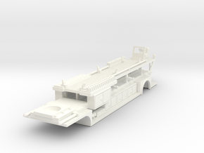 1/87 ALF American La France Tiller   in White Processed Versatile Plastic