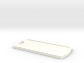 KEY ID Long in White Processed Versatile Plastic