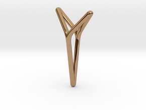 YOUNIVERSAL ONE, Pendant in Polished Brass