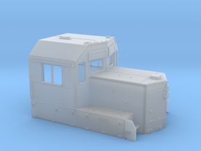 CB0020 CN SD40U Cab without Class Lights 1/87.1 in Smoothest Fine Detail Plastic