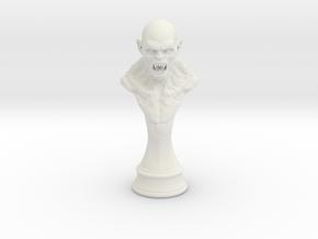 MonsterPrint2 in White Natural Versatile Plastic