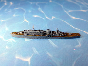 German Submarine-Tender Wilhelm Bauer 1/1800  in Smooth Fine Detail Plastic