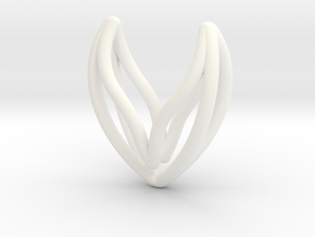 sWINGS Hearty. Pure, Fine, Elegance. in White Processed Versatile Plastic