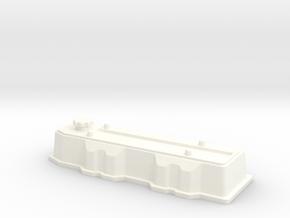 22R 1-10 motor Valve Cover in White Processed Versatile Plastic