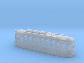 L Wiener Linien Triebwagen Gehäuse in Smooth Fine Detail Plastic