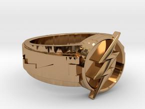V3 Regular Size 10.5 20.2mm in Polished Brass
