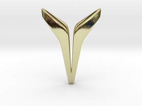 YOUNIVERSAL INSPIRE Pendant in 18k Gold Plated Brass