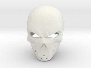 Abaddon helmet - Last Man Standing in White Natural Versatile Plastic