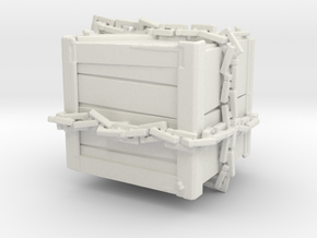 Mann Co Crate in White Natural Versatile Plastic