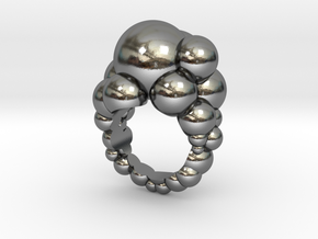 Soap N' Suds Ring in Polished Silver