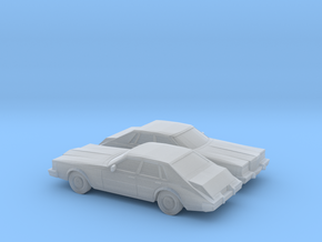 1/160 2X 1980-85 Cadillac Seville in Frosted Ultra Detail