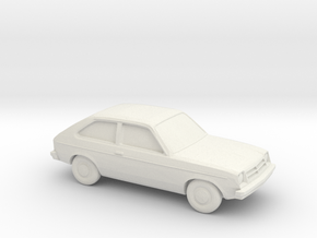 1/87 1975-82 Chevrolet Chevette in White Strong & Flexible