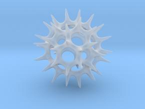 Acrosphaera (Radiolaria) in Smooth Fine Detail Plastic