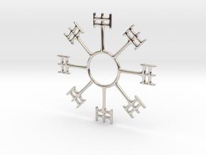 Magic Stave - Draumstafur in Rhodium Plated Brass