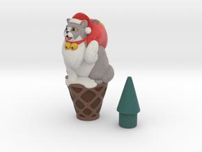 Santa icecream in Full Color Sandstone