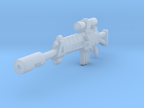 Assault Rifle Sharpshooter in Smooth Fine Detail Plastic