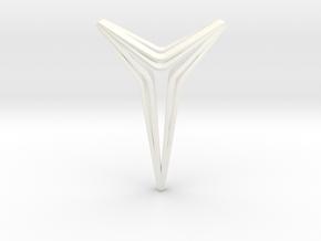 YOUNIVERAL Star S.01 Pendant in White Processed Versatile Plastic