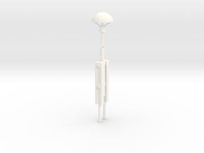 S1-233   Pilzleuchte DR in White Processed Versatile Plastic