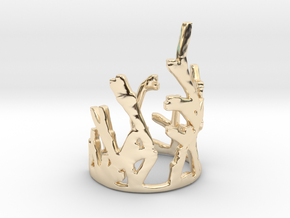 Growing Ring V2 in 14k Gold Plated Brass