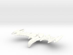 "Valbird Class WarBird   3"" in White Processed Versatile Plastic"