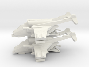 [5] SOF Assault Gunship (x2) in White Natural Versatile Plastic