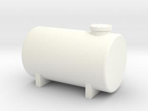 HO Fuel Tank 10m³ in White Processed Versatile Plastic