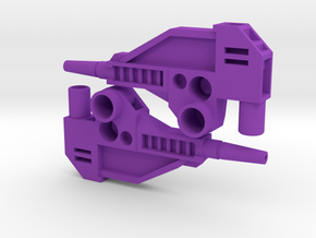 CW 'GROOVE' Guns (Twin) inspired by G1 Override in Purple Strong & Flexible Polished