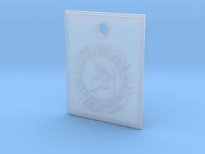 Molon Labe Spartan Pendant in Smooth Fine Detail Plastic