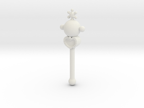 sm wands pluto: 1/6 scale for dolls in White Natural Versatile Plastic