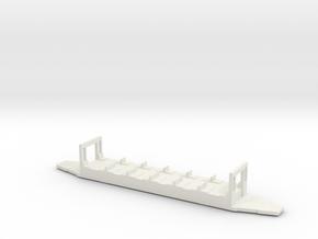 OEG Spitzmausbeiwagen Fahrwerk  in White Natural Versatile Plastic
