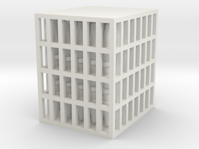 Platonic Solids Kit - part 2 of 2 in White Natural Versatile Plastic