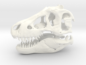 T-rex in White Strong & Flexible Polished