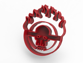 Mad Max: Fury Road - Cookie Cutter in Red Processed Versatile Plastic
