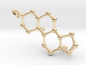 Androstenol in 14k Gold Plated Brass